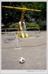 葛西_東葛西SAKURA公園 長頸鹿鞦韆+小皮球