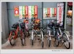 飛鳥山 單車在日本也是隨處可見的!