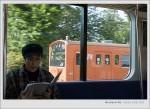 吉祥寺=>中野_JR車箱內 窗外是JR中央線